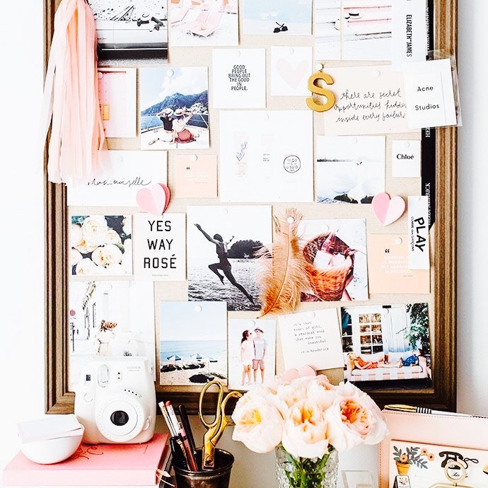 Creare un'inspiration board